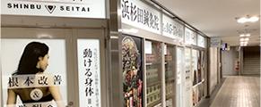 杉田駅ビル接骨院の外観