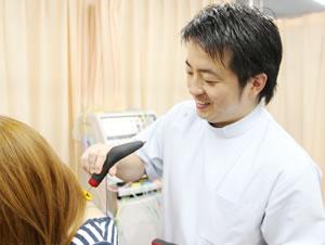 横浜市中区ライフガード鍼灸接骨院・深部整体院:ハイボルテージの写真