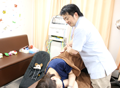 横浜市中区 ライフガード接骨院・整体院:産後骨盤矯正写真
