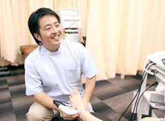 横浜市中区 ライフガード接骨院・整体院:受付の写真