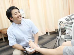 横浜市中区・磯子区 鍼灸接骨院・整体院やわらグループの超音波治療