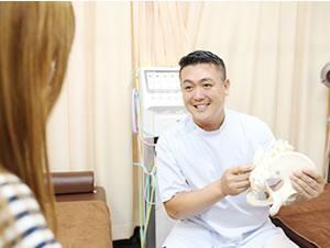 横浜市中区・磯子区 鍼灸接骨院・整体院やわらグループの身体の状態の説明・確認