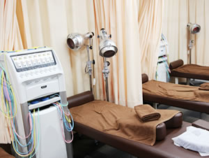 横浜市中区・磯子区 鍼灸接骨院・整体院やわらグループの院内の様子